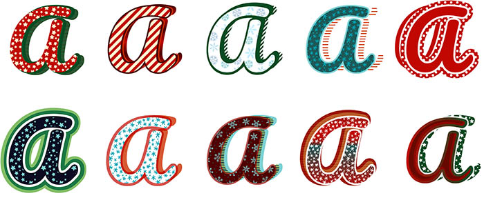 360+ Vector Elements - $5 - Christmas Graphic Styles