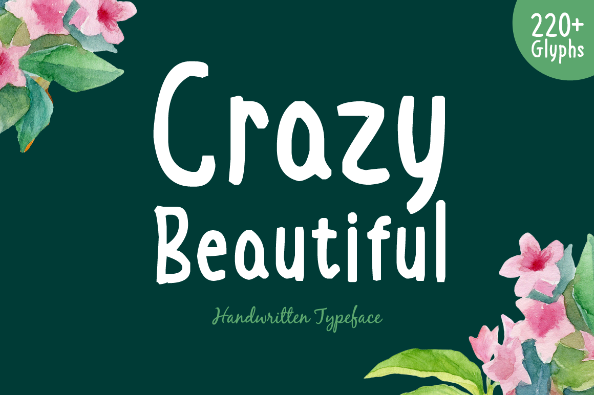 50+ Best Tropical Fonts 2021: Free and Premium 🌴 - Crazy Beautiful Preview 1