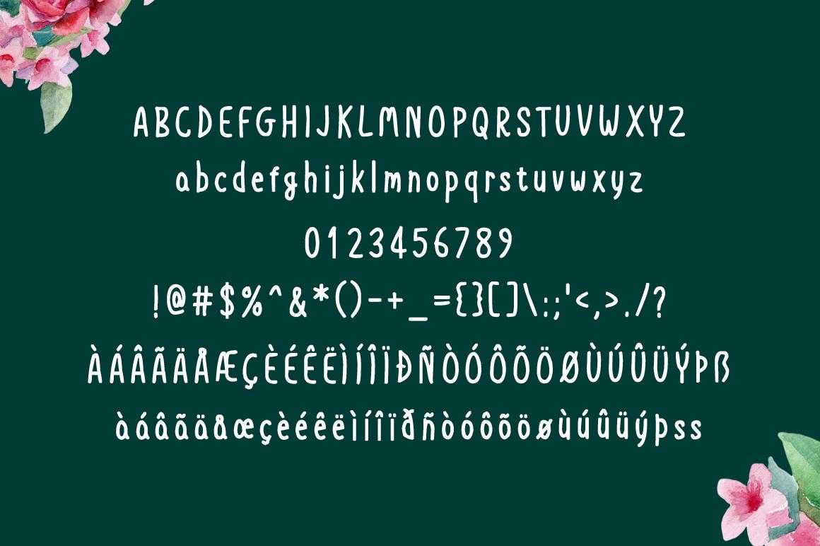 Crazy Beautiful handwritten font