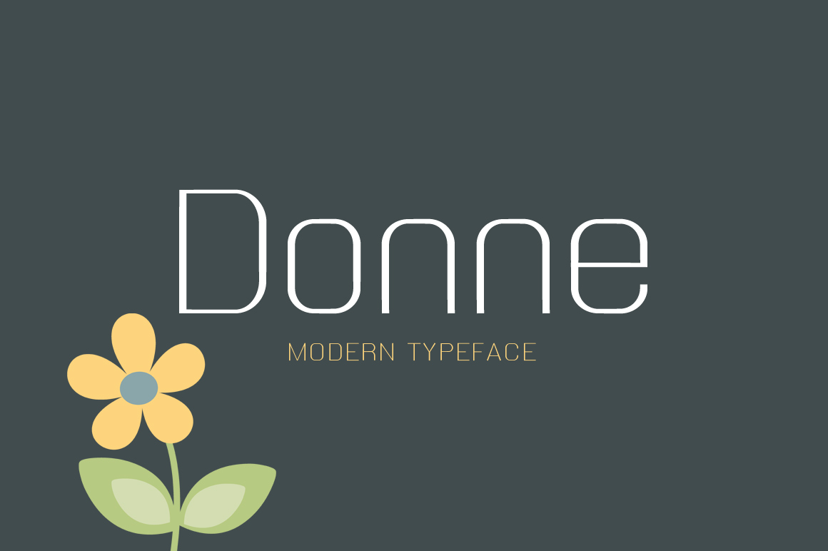 20 Stunning Fonts Bundle - $20 - Donne Preview 1