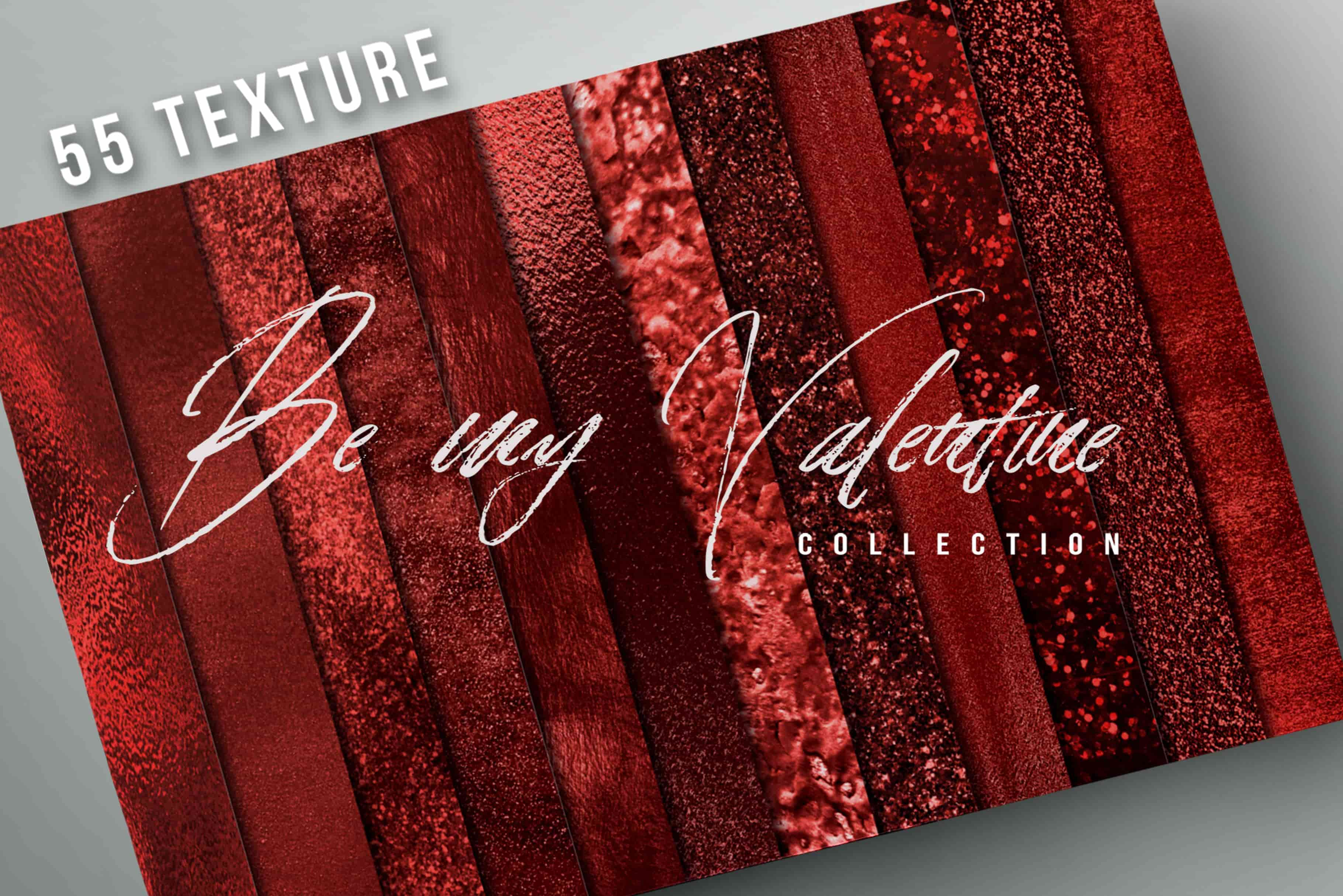 Valentine red Textures Bundle