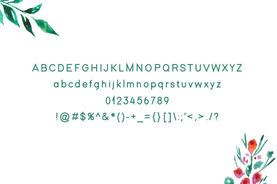 Memixio modern display font