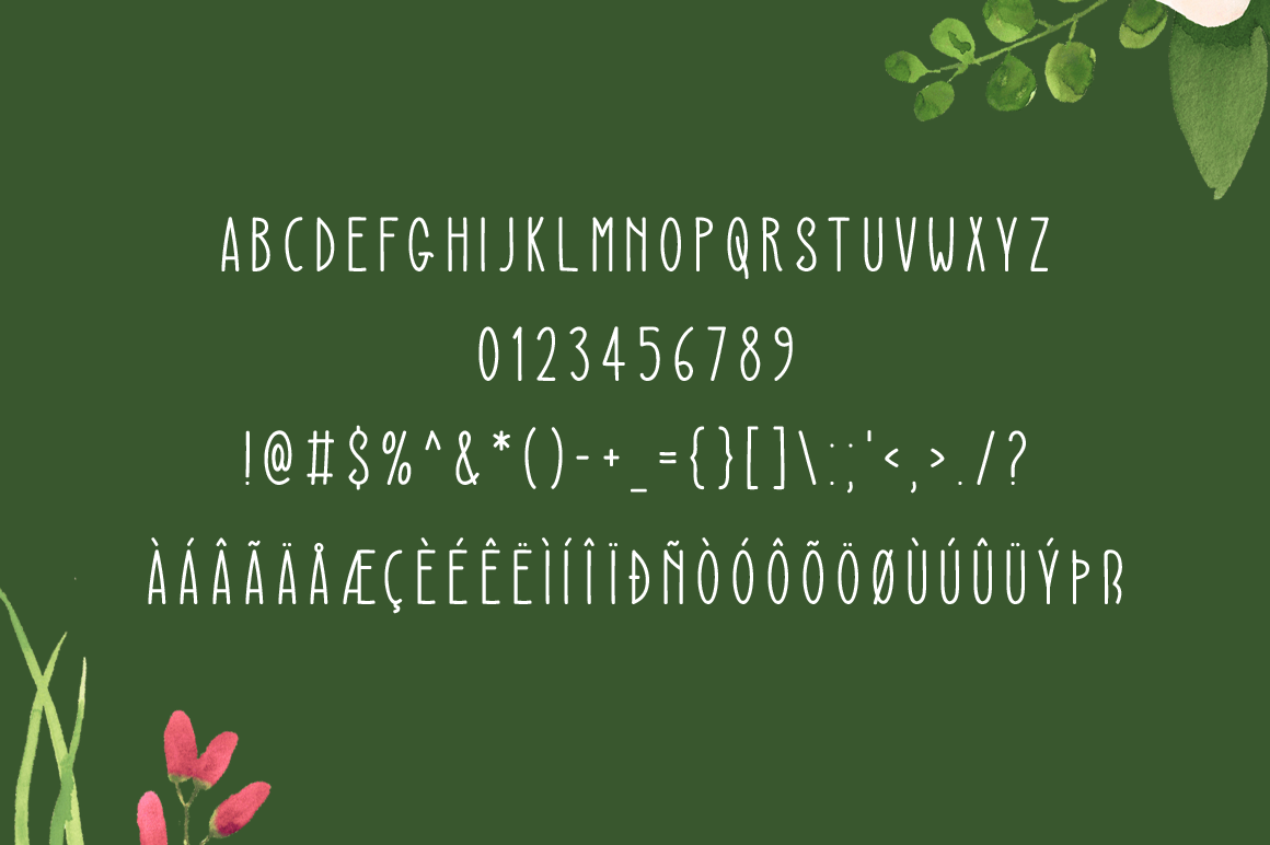 Sensation modern display font