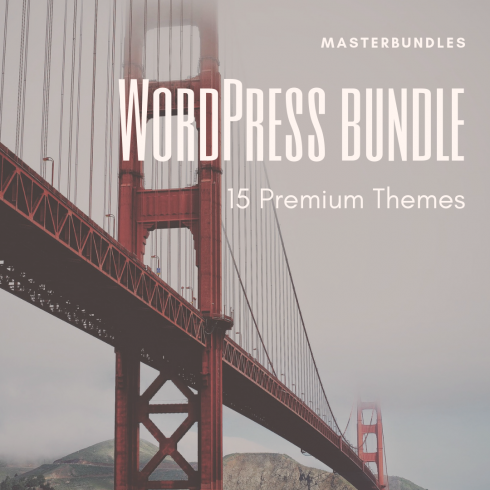 WordPress bundle: 15 Premium Themes - $39 - WordPress bundle 490x490