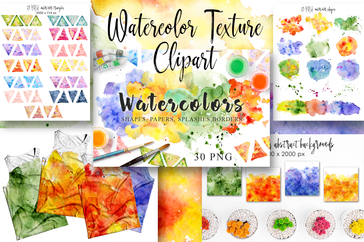 Summer Sale Watercolor Bundle 80%OFF! - cover 1 5