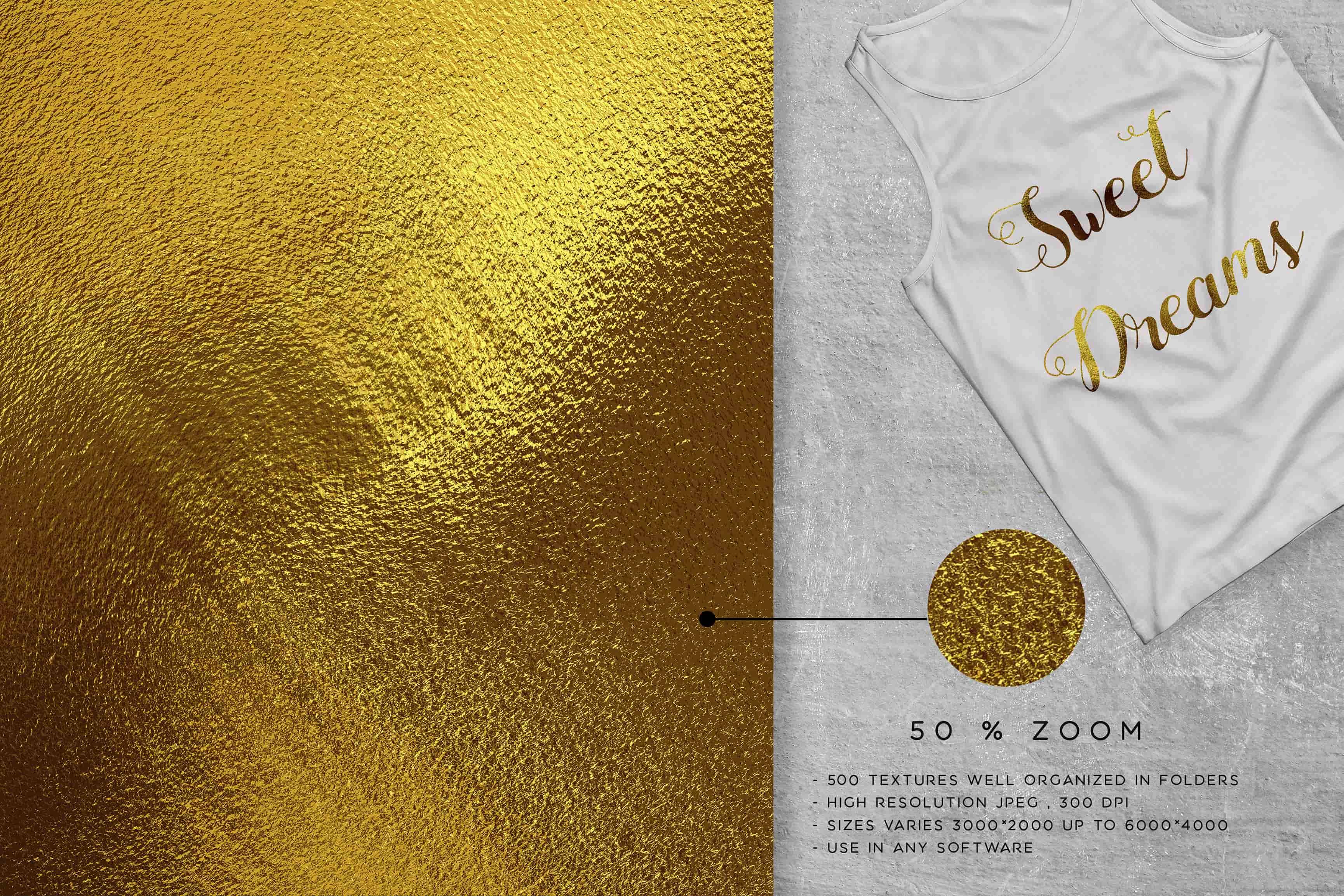 805 Beautiful Textures: Glamourous  Bundle - $25 - shirt gold min