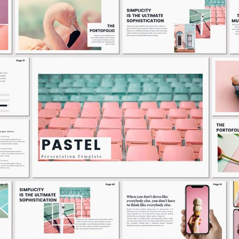 Google Slides Templates for Teachers in 2020. Bundel Template Pastel - $15 - title 490x490