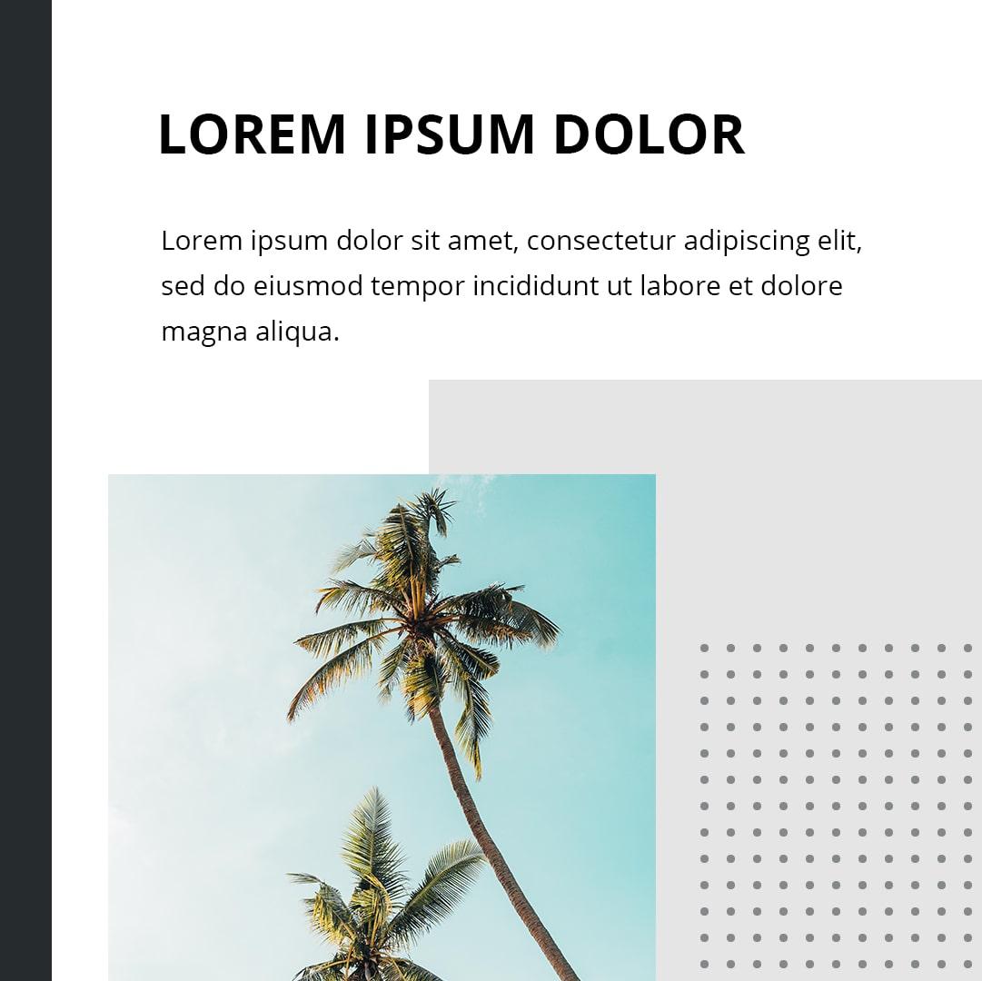 Instagram templates bundle: 12 posts, 12 stories + BONUS 14 Instagram Highlight icons