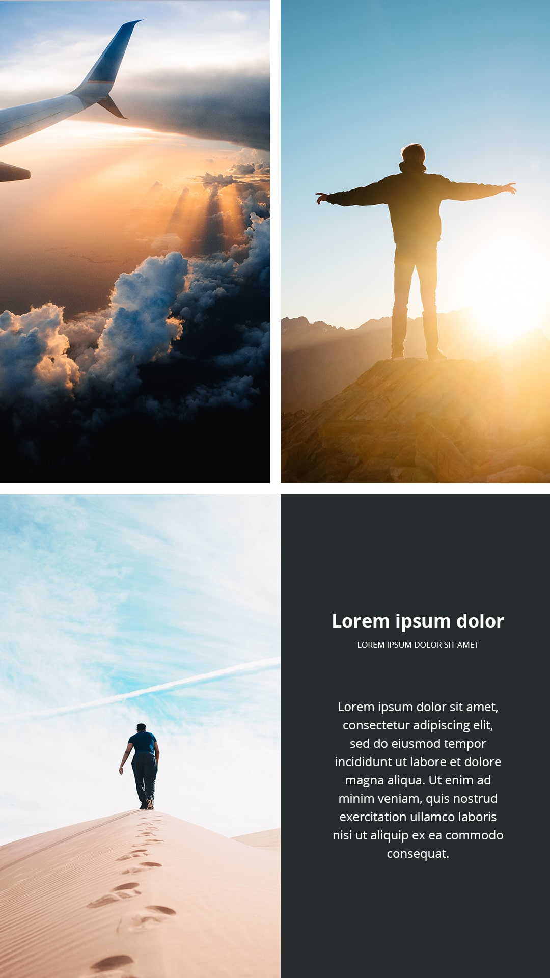 Travel Instagram Templates Bundle: 12 posts, 12 stories + BONUS 14 Instagram Highlight icons - $18 - 1 min 5