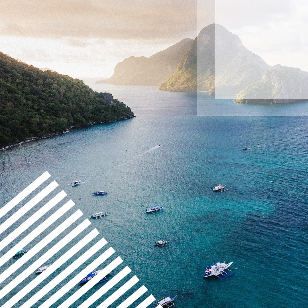 Travel Instagram Templates Bundle: 12 posts, 12 stories + BONUS 14 Instagram Highlight icons - $18 - 10 min 1