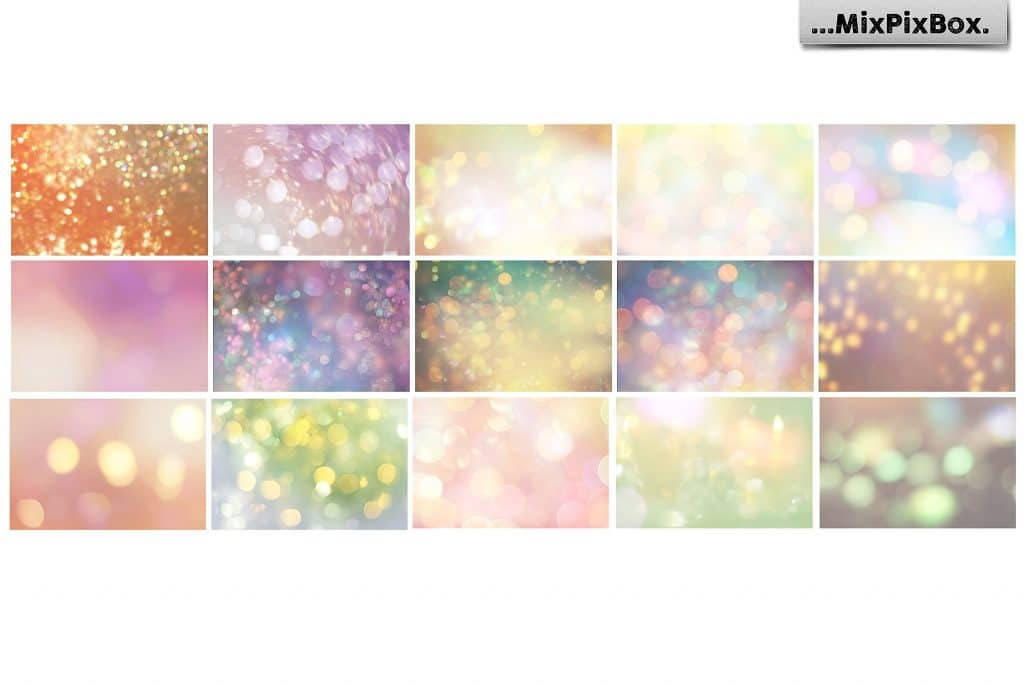Magical Summer Backdrops  Light Bokeh Textures