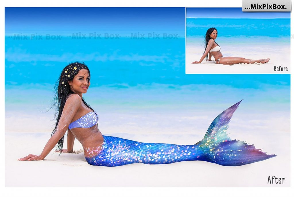20 Mermaid Tail Overlays - $8 - 2 min 2 1024x685