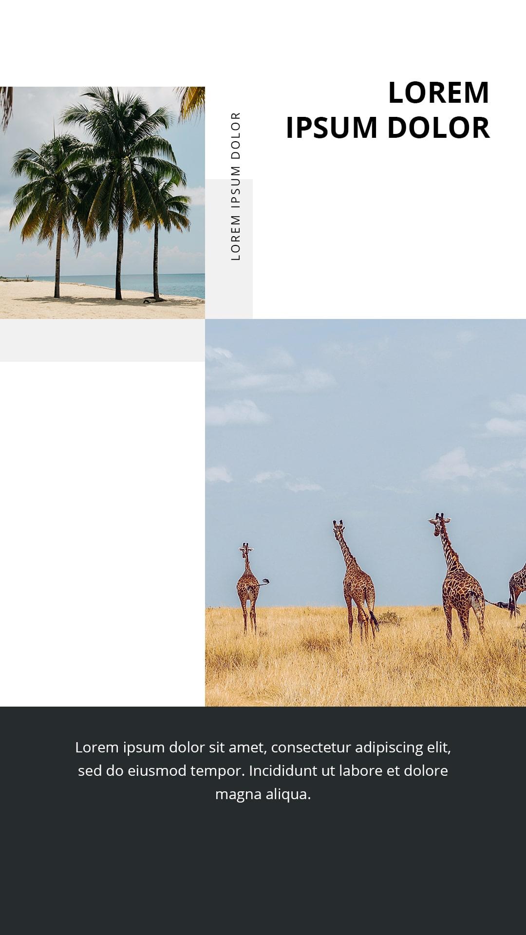 Travel Instagram Templates Bundle: 12 posts, 12 stories + BONUS 14 Instagram Highlight icons - $18 - 3 min 4