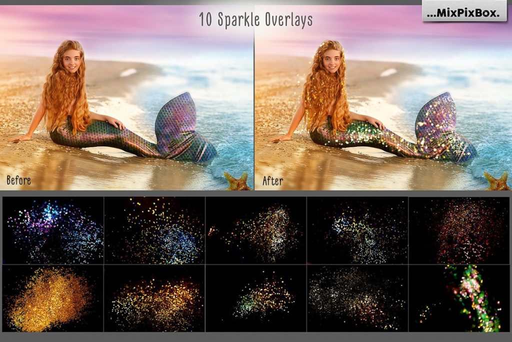 20 Mermaid Tail Overlays - $8 - 5 min 2 1024x685