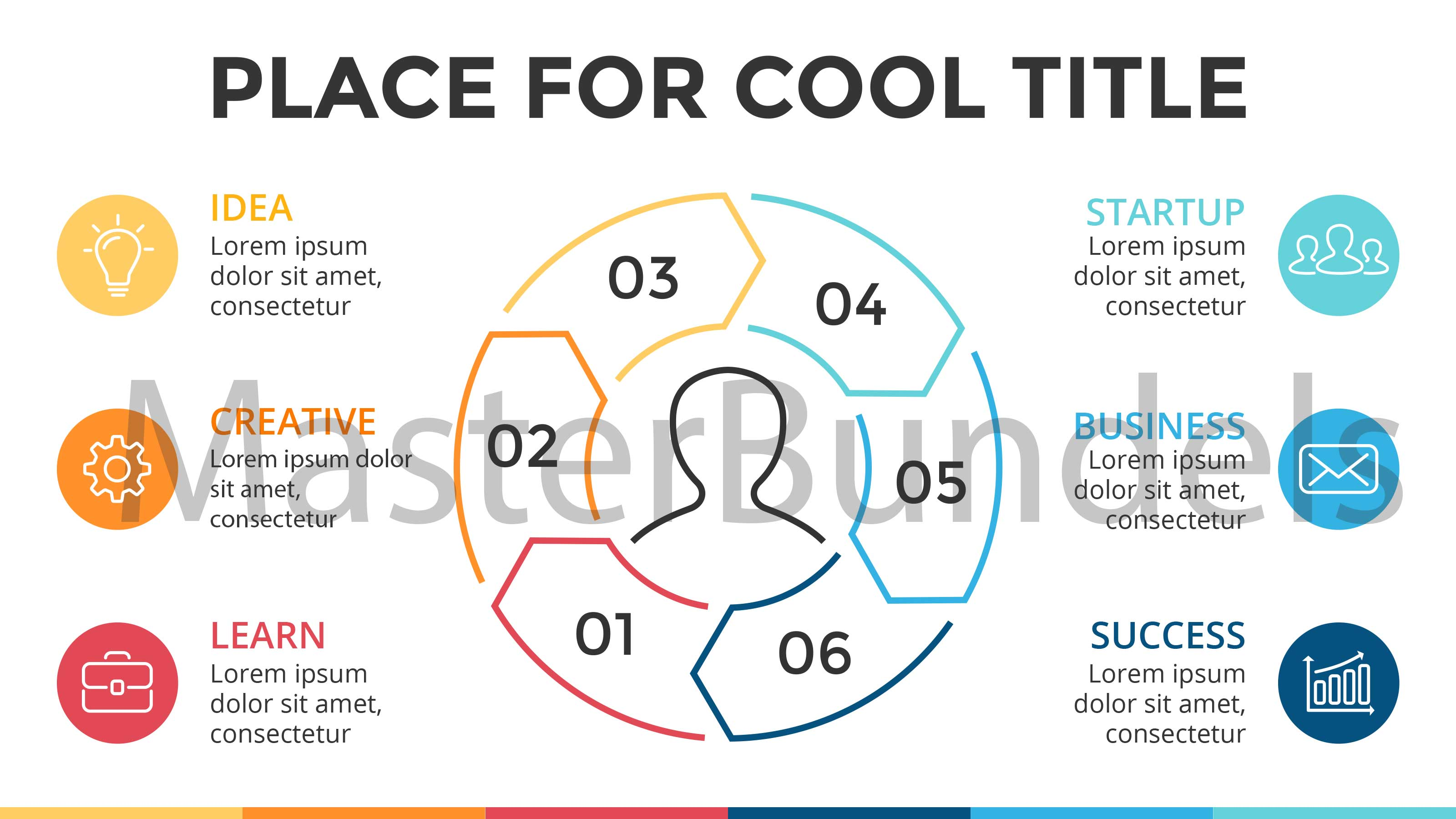 5 Free Minimal Business Infographic Templates