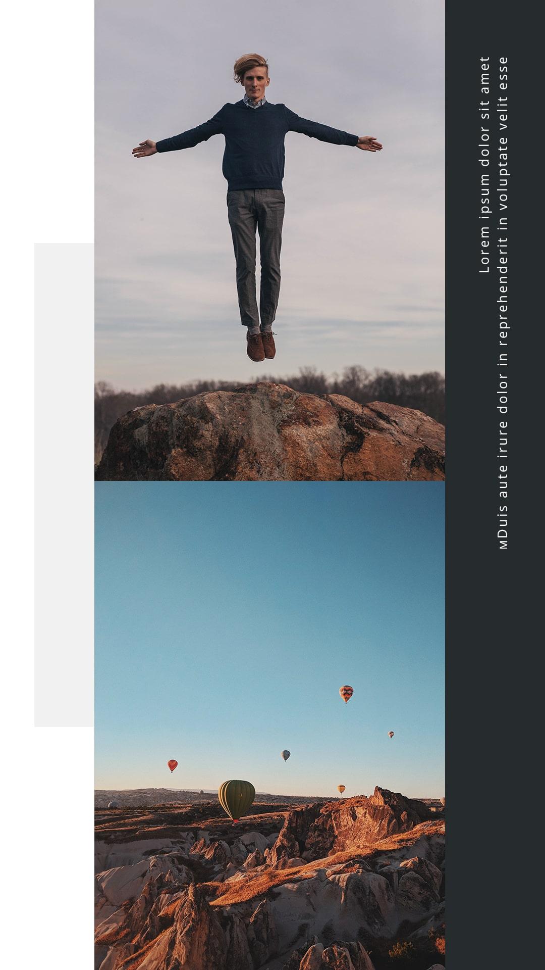 Travel Instagram Templates Bundle: 12 posts, 12 stories + BONUS 14 Instagram Highlight icons - $18 - 6 min 3