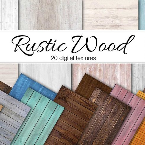 20 Rustic Wood Digital Textures - $5 - 600 15 490x490