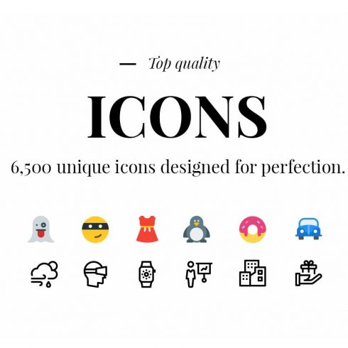 MEGA Bundle: 1500 New Vector Icons - 600 19 490x490