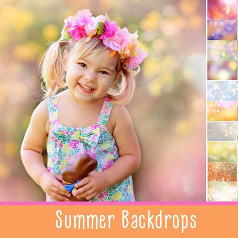 40 Magical Summer Backdrops  Light Bokeh Textures - $8 - 600 20 490x490