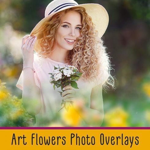 20 Art Flowers Photo Overlays - $7 - 600 6 490x490