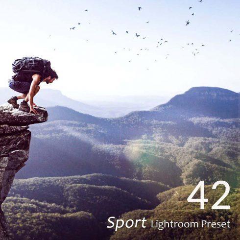 42 Sport Lightroom Presets - $9 - 600 min 490x490