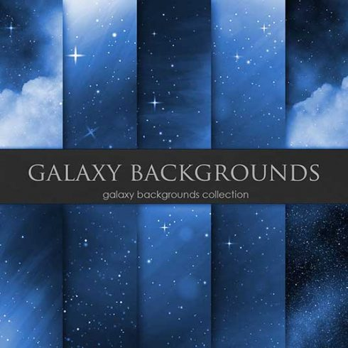 Navy Galaxy Backgrounds - $4 - 601 9 490x490