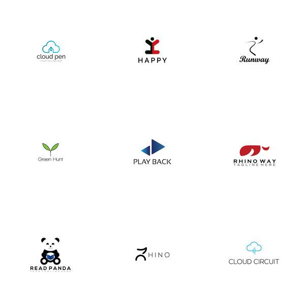 115 PreMade Brand Logo Templates