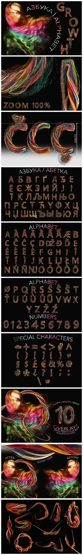 Huge Graphic Bundle Alphabet with 1000+ elements - $25 - Growth min