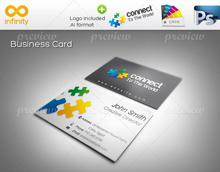 Ultimate Print Templates Bundle with 130 Items - Only $19 - codegrape 1627 connect corporate identity small
