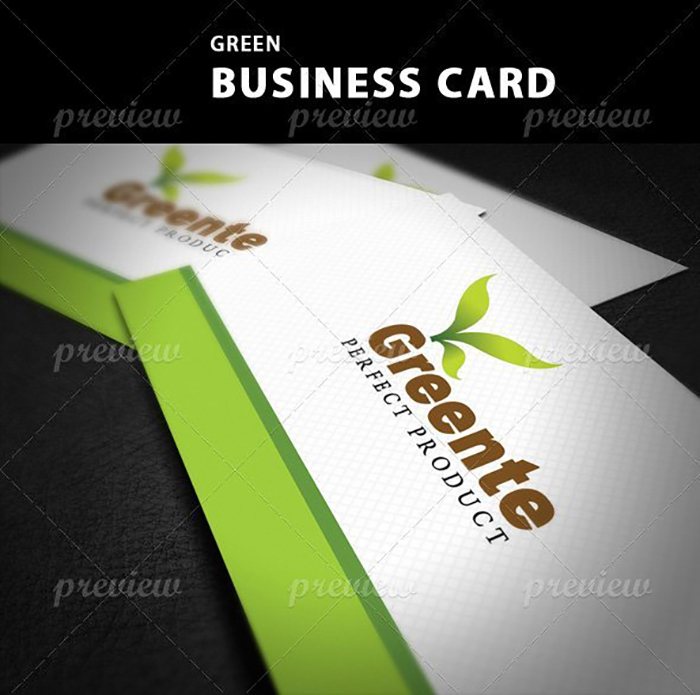 Ultimate Print Templates Bundle with 130 Items - Only $19 - codegrape 1740 green business card small