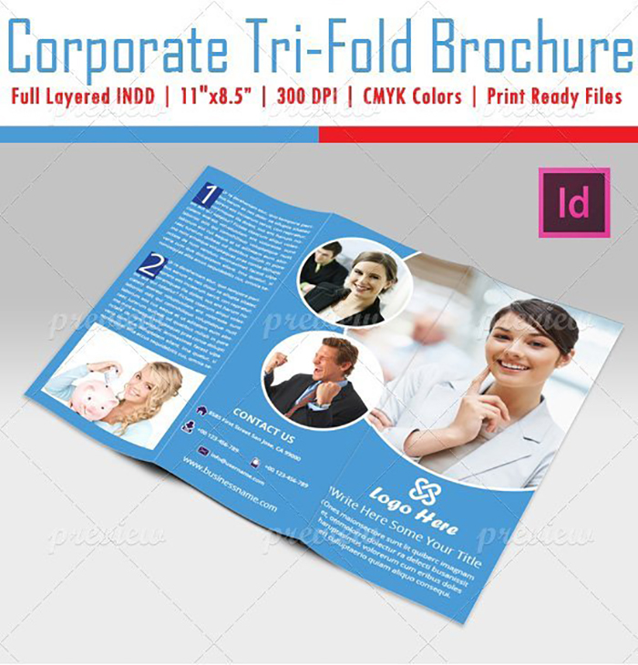 Ultimate Print Templates Bundle with 130 Items - Only $19 - codegrape 1985 corporate tri fold brochure small