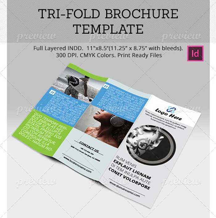 Ultimate Print Templates Bundle with 130 Items - Only $19 - codegrape 2049 tri fold brochure template small