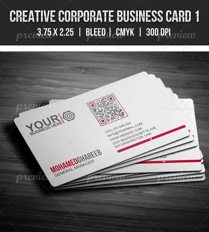 Ultimate Print Templates Bundle with 130 Items - Only $19 - codegrape 2052 creative corporate business card 1 small