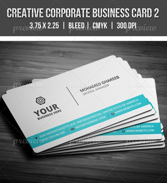 Ultimate Print Templates Bundle with 130 Items - Only $19 - codegrape 2060 creative corporate business card 2 small