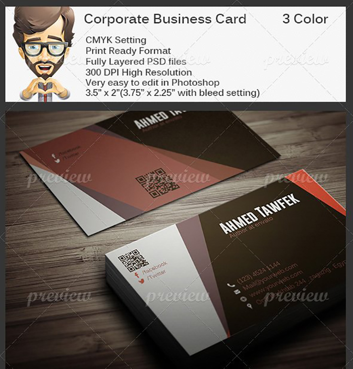 Ultimate Print Templates Bundle with 130 Items - Only $19 - codegrape 2213 corporate business card small