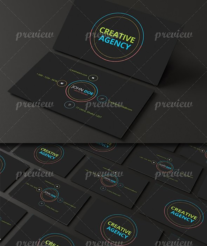 Ultimate Print Templates Bundle with 130 Items - Only $19 - codegrape 2848 android style business card design small