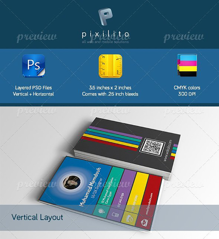 Ultimate Print Templates Bundle with 130 Items - Only $19 - codegrape 3499 designer business card small