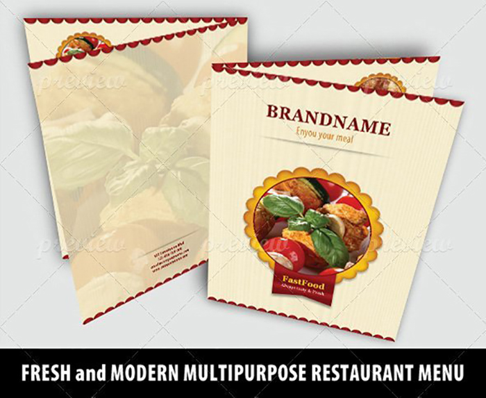 Ultimate Print Templates Bundle with 130 Items - Only $19 - codegrape 4197 elegant restaurant menu small