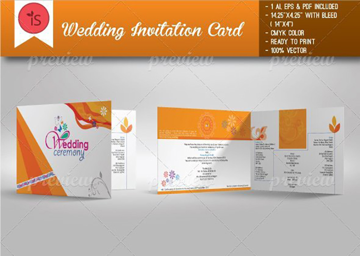Ultimate Print Templates Bundle with 130 Items - Only $19 - codegrape 4336 wedding invitation card small