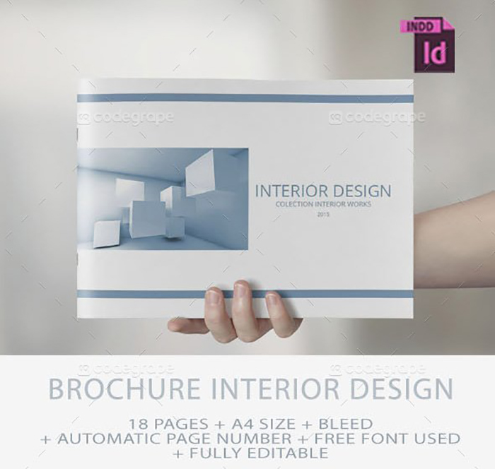 Ultimate Print Templates Bundle with 130 Items - Only $19 - codegrape 5532 brochure interior design small