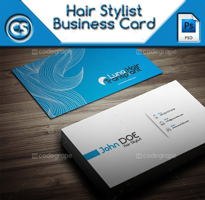 Ultimate Print Templates Bundle with 130 Items - Only $19 - codegrape 6007 hair stylist business card small