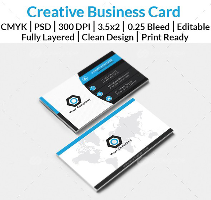 Ultimate Print Templates Bundle with 130 Items - Only $19 - codegrape 6053 modern busines card small