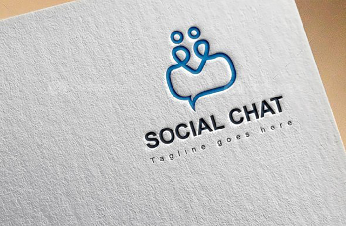 Ultimate Print Templates Bundle with 130 Items - Only $19 - codegrape 6233 social chat logo small