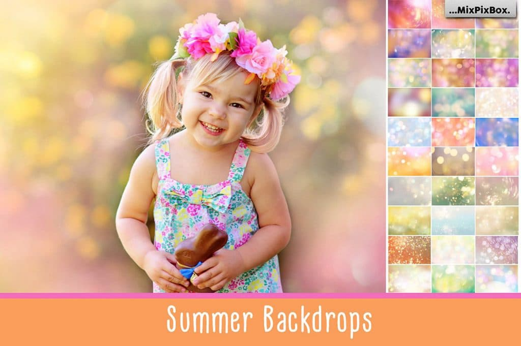 40 Magical Summer Backdrops Light Bokeh Textures