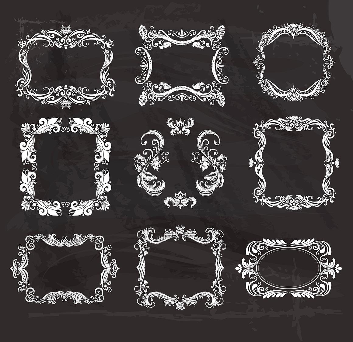 Vintage Frames and Monograms