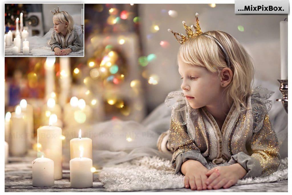 60 Glitter Photo Overlays