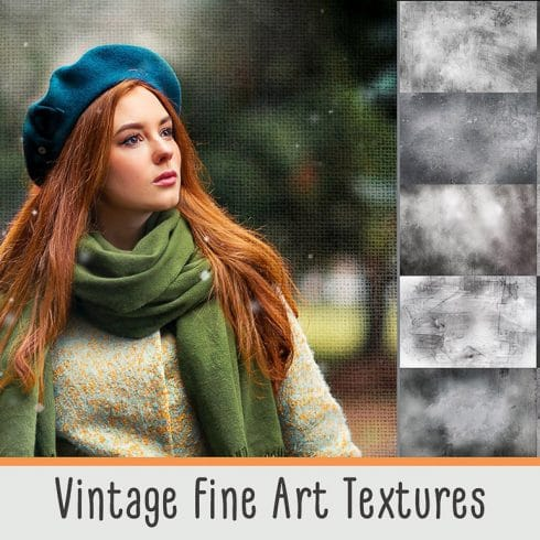 Vintage Overlays: 27 Vintage Fine Art Textures- $8 - 600 26 490x490