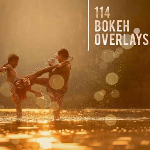 114 Bokeh Photo Overlays - $9 - 600i 490x490