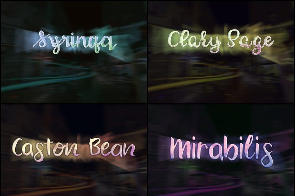 PSD Text Effects - 105 Pro Phtoshop Effects for Texts - befunky collage 1