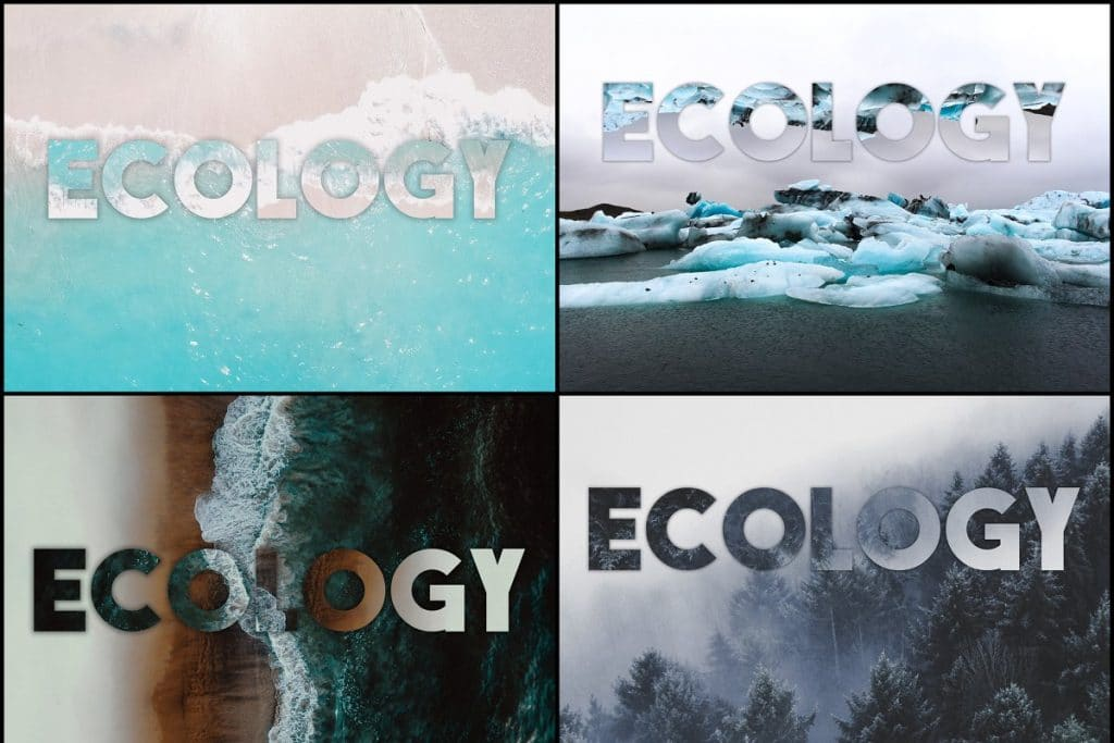 PSD Text Effects - 105 Pro Phtoshop Effects for Texts - befunky collage 5